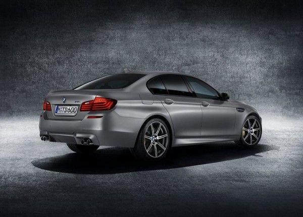 2014 BMW M5 30 Jahre M5 Rear 600x430 2014 BMW M5 30 Jahre M5 Review