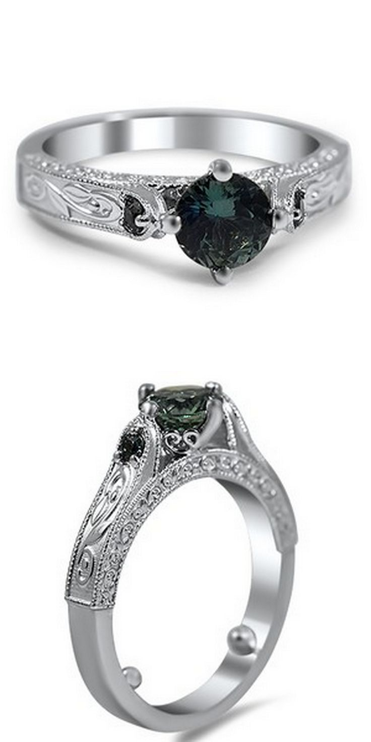 Not a big jewelry person, but this is so pretty- Compass Point Vintage Inspired Ring