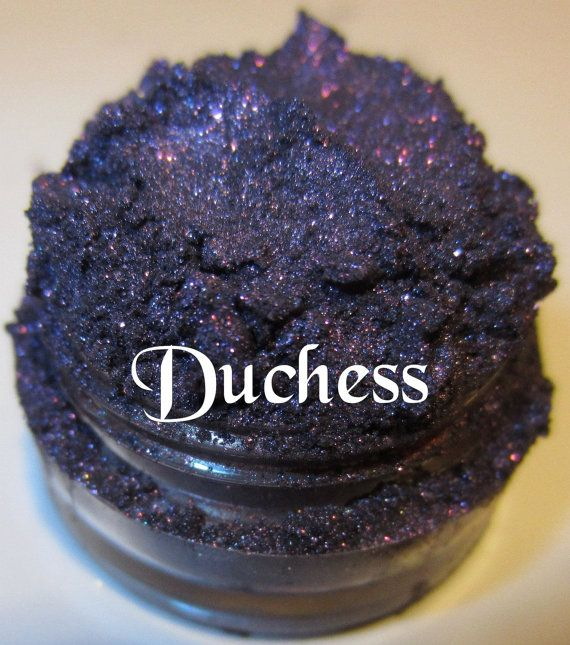 Duchess Royal Deep Purple Glitter Mineral Eyeshadow Mica Pigment 5 Grams Lumikki Cosmetics on Etsy, $5.95