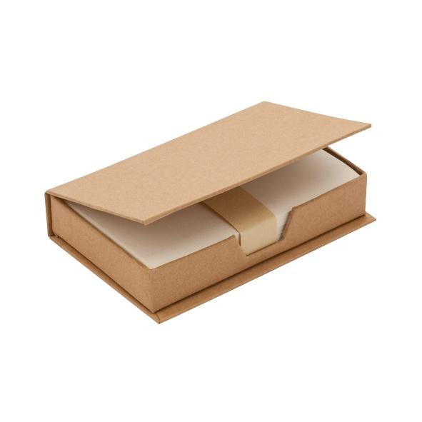 COD.EC021 Taco Ecológico de 180 hojas en caja de cartón reciclado.