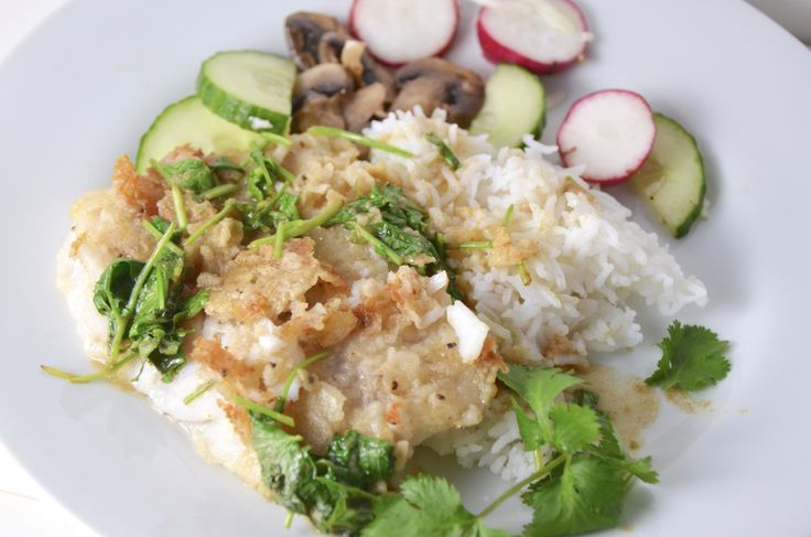 ... get this crispy chipotle lime tilapia with cool avocado sauce