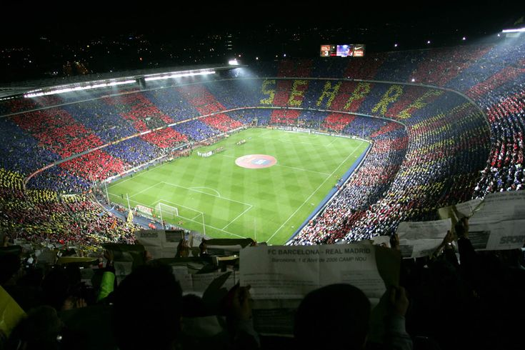 Camp Nou, the home of arguably the World's best team.