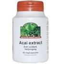 TS Products Acai 2:1 100% Natuurlijk 60 capsules - Acai bevat het hoogste niveau van natuurlijke antioxidanten verkrijgbaar op de markt. Acai: * bevat vitamine B1, B2, B3, C en E * met verschillende mineralen als kalium en 16 aminozuren * bevat een hoog gehalte aan polyphenolen, flavonoiden, anthocyanidinen en proanthocyanidinen