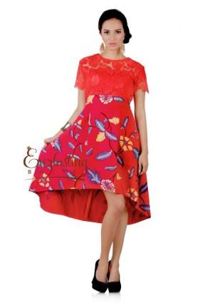 20178 Audrey Prada wonderland dress