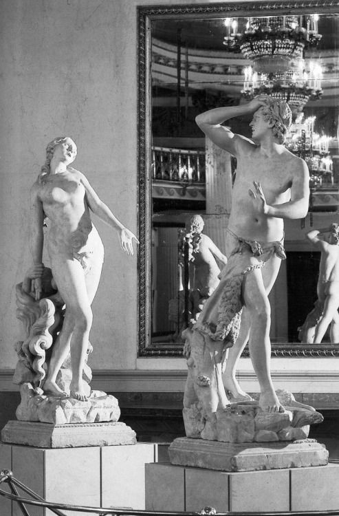 Antonio Canova, Orpheus and Eurydice, 1775-76, Stone, Museo Correr, Venice.