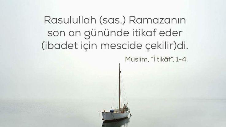 İtikaf  #itikaf #sünnet #ramazan #sonongün #mescid #cami #islam #hayırlıramazanlar #hadisler  #ilmisuffa