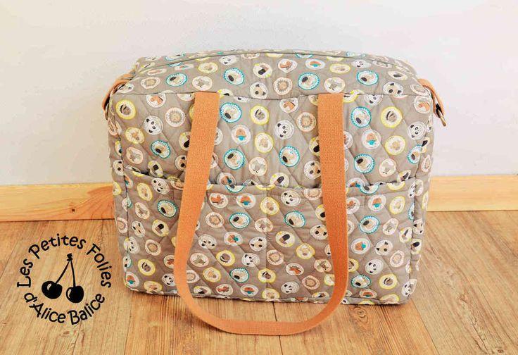 Tuto grand sac à langer | diy couture | patron couture gratuit