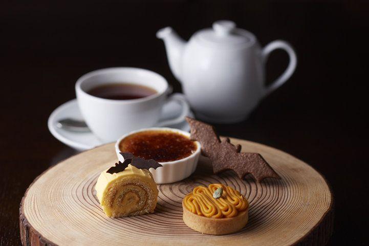 こうもり型クッキーがひらり。「グランド ハイアット 東京」