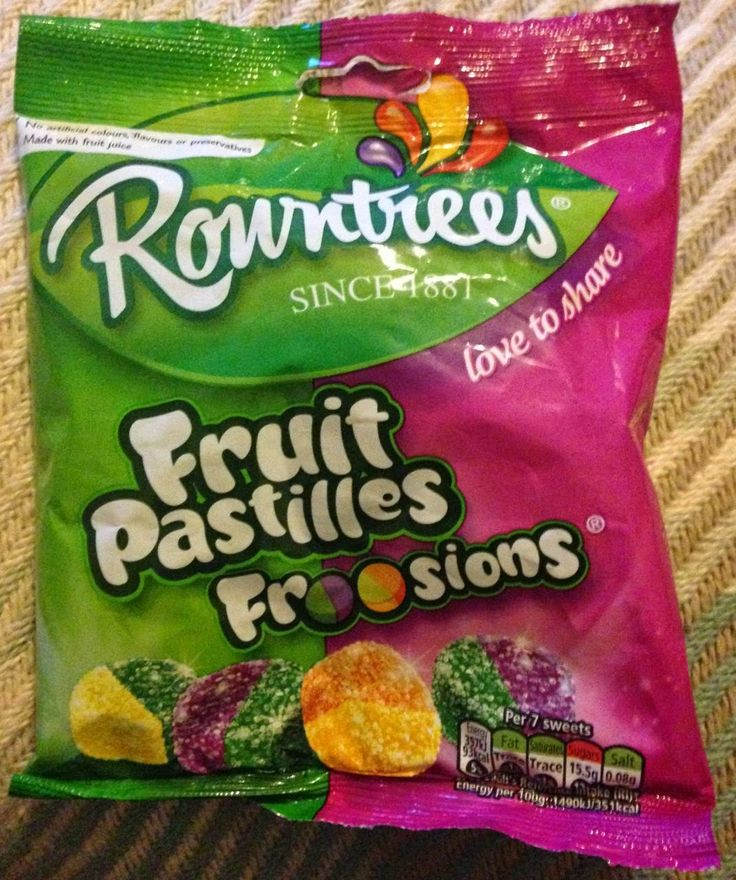 Foodstuff Finds: Rowntrees Fruit Pastilles Froosions (WH Smiths) [By @SpectreUK]