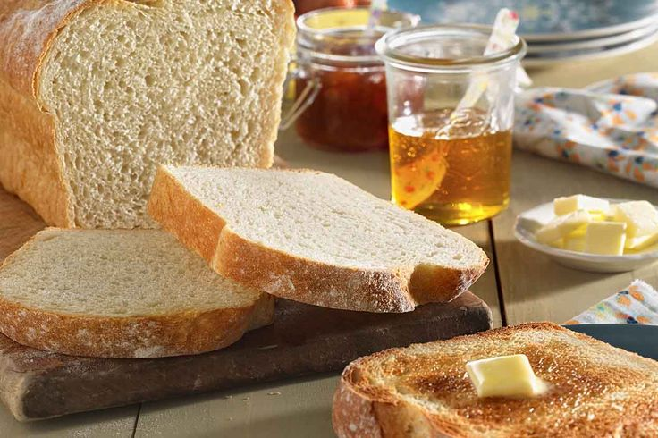 Walter Sands' Basic White Bread Recipe
