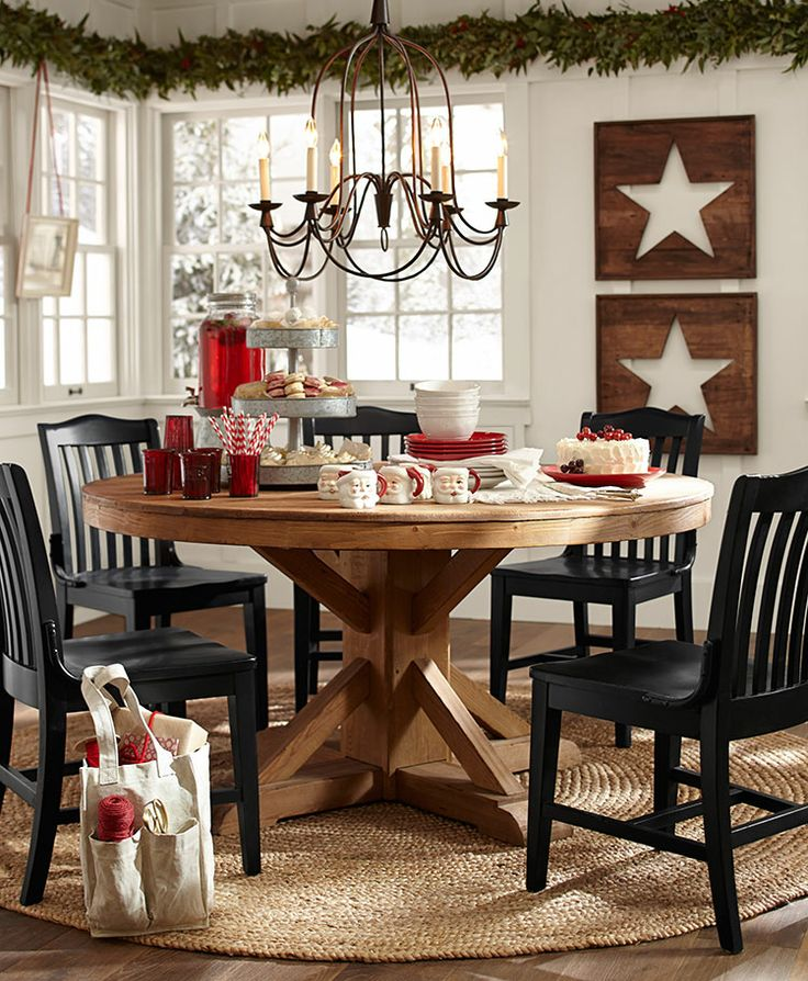Christmas Styles Pottery Barn. Dining Room Pic Part 78
