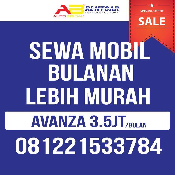 rental mobil bulanan autobridal bandung 081221533784