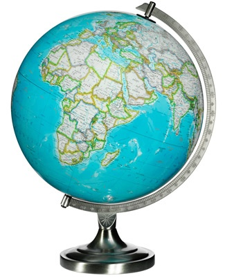 "12"" National Geographic Bowers Desk Globe"
