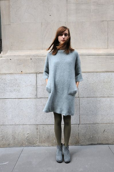 boboutic wool tunic.