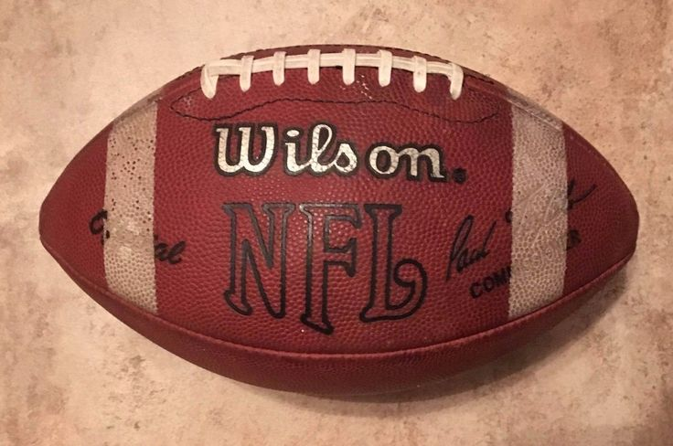 Authentic Official NFL Wilson F1000 Paul Tagliabue Professional Football Stripes