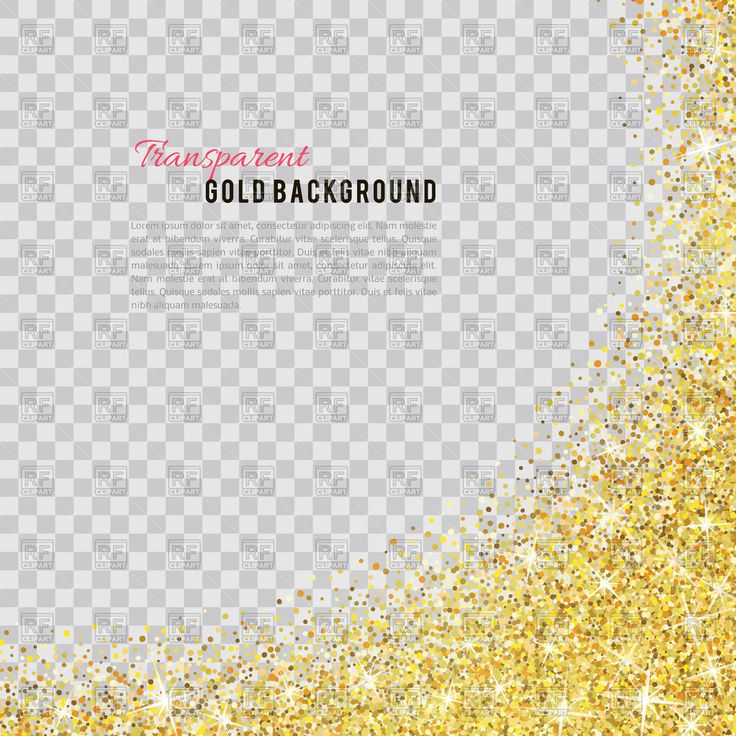 Vector image of Gold glitter background #112232 includes graphic collections of glitter. You can download this image in EPS and JPG format.