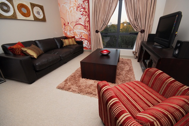 Two Bedroom Apartment Lounge.    http://www.eahs.co.za/establishments/esprit#