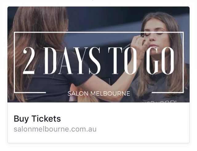 Only 2 days to go!   Register now for your ticket! http://bit.ly/1WwpnFC  Less than 2 days left until the Salon Melbourne Hair & Beauty International Expo 5-6 March.  Visit us at UNGEX stand 1044 to redeem your ticket, get a free High Frequency Instrument as well as others promotions on the two days, for any purchase of any Essential Kits.  For our current customers, they will receive one free item per one