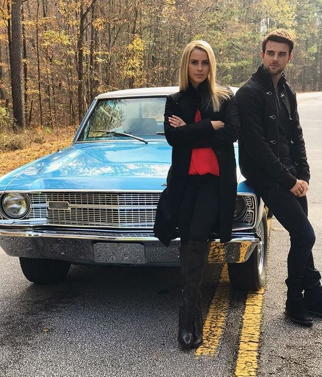 Claire Holt and Nate Buzolic season 5. Posted by Nate