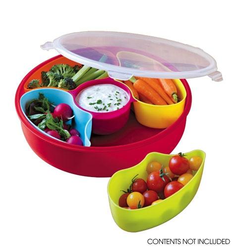 Colorful serving set