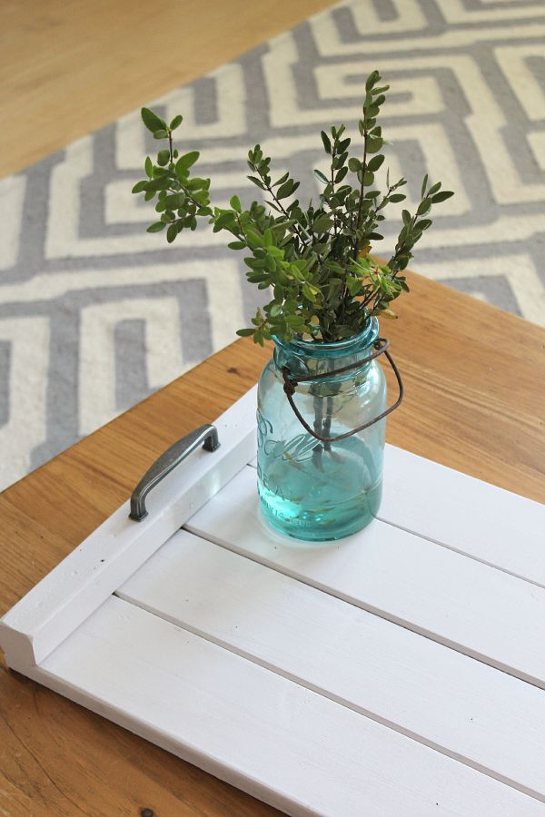 Diy Wooden Tray Wooden Trays Easy Diy And Trays