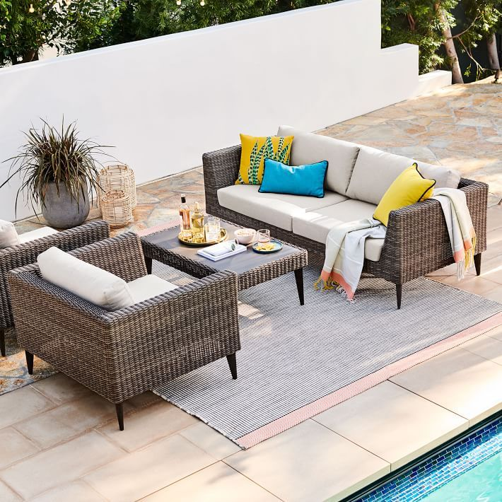 Marina Outdoor Sofa 81 Backyard Furniture Outdoor Patio Furniture Resin Patio Furniture