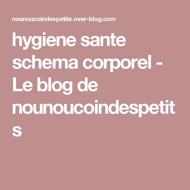 hygiene sante schema corporel - Le blog de nounoucoindespetits