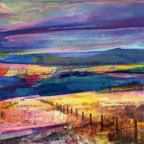 Part of a whole series of mixed media photos/paintings from a Yorkshire artist…