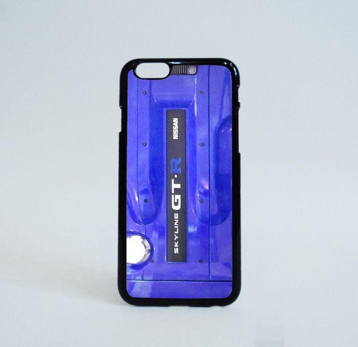 Blue Engine Nissan Skyline GTR R32 Custom iPhone 6 Case Print on Hard Plastic #Unbranded