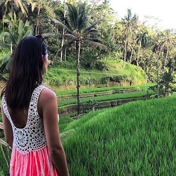 Monika tráví na Bali celkem dvanáct dní.