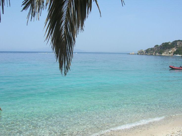 Gidaki beach, fantastic water