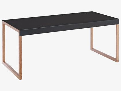 KILO BLACKS Metal Black metal coffee table - HabitatUK