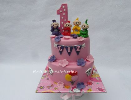 for a Girl-Teletubbies cake