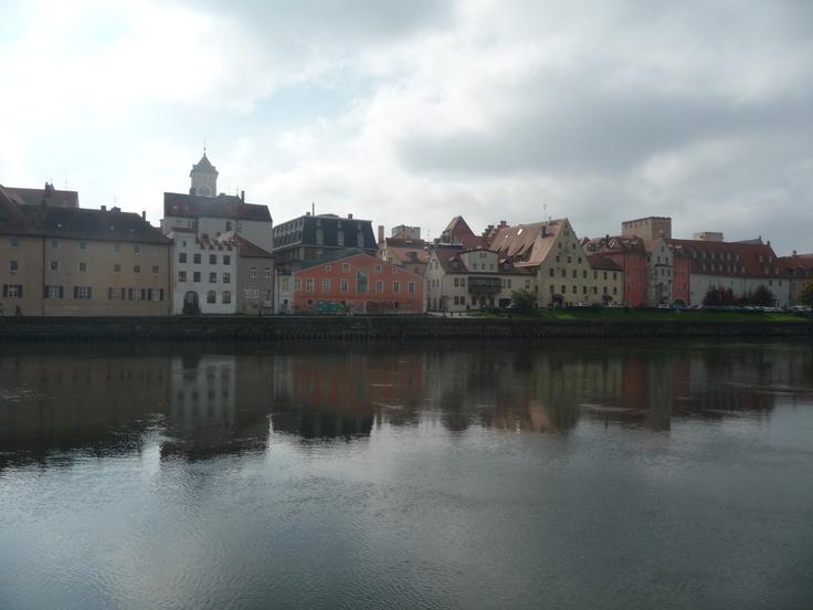 Regensburg / Donau (river Danube)