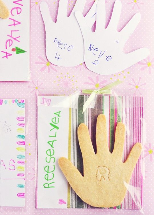 Little Hands Sugar Cookies & Cards