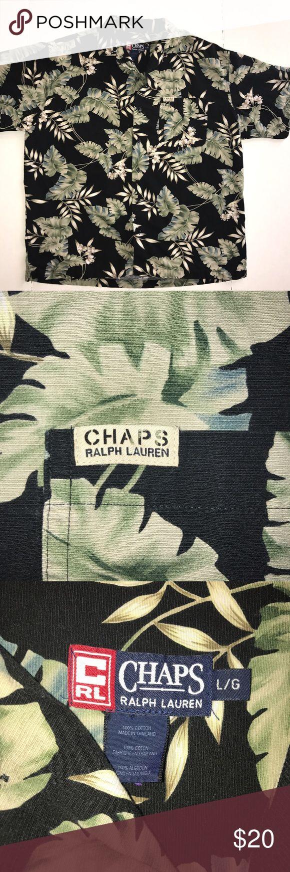 Chaps Ralph Lauren Hawaiian shirt Excellent condition, make an offer Polo by Ralph Lauren Shirts Polos