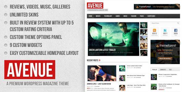 Avenue - A WordPress Magazine Theme