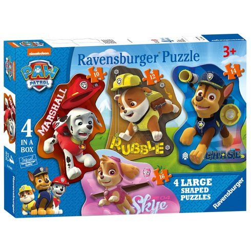 Buy Paw Patrol 4 Shaped Puzzles Online at Smyths Toys Ireland Or Collect In Local SmythsToys! We Stock A Great Range Of Jigsaws & Puzzles At Great Prices.