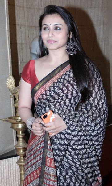 Rani Mukherjee in saree