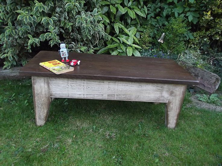 vintage mill coffee table by woods vintage home interiors | notonthehighstreet.com