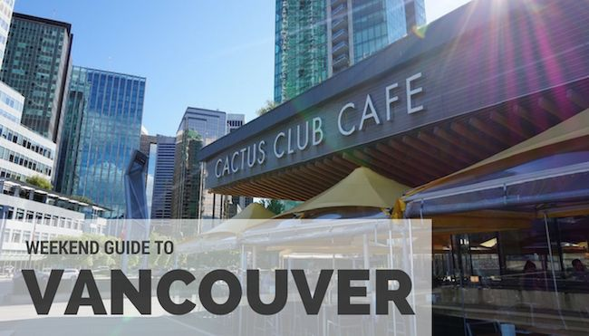 If Vancouver isn't already on your list of places to visit, the endless variety of things to do, see and eat in Vancouver is guaranteed to earn it a spot.