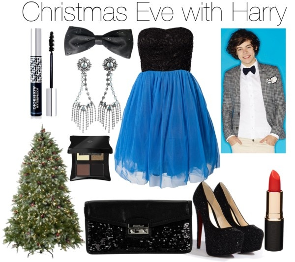 """""""Christmas Eve with Harry"""" by erinlooovesyou ❤ liked on Polyvore"""