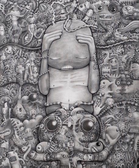 'Boh' by hackatao on artflakes.com as poster or art print $16.63