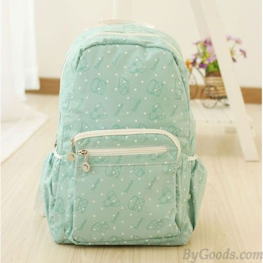 Finally! I found the Sweet Polka Dot Mint Green School Backpack from ByGoods.com. I like it so so much!