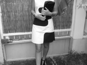id�e patron gratuit robe style courrege