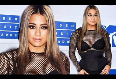 Fifth Harmony's Ally Brooke squeezes into tight corset at MTV VMAs