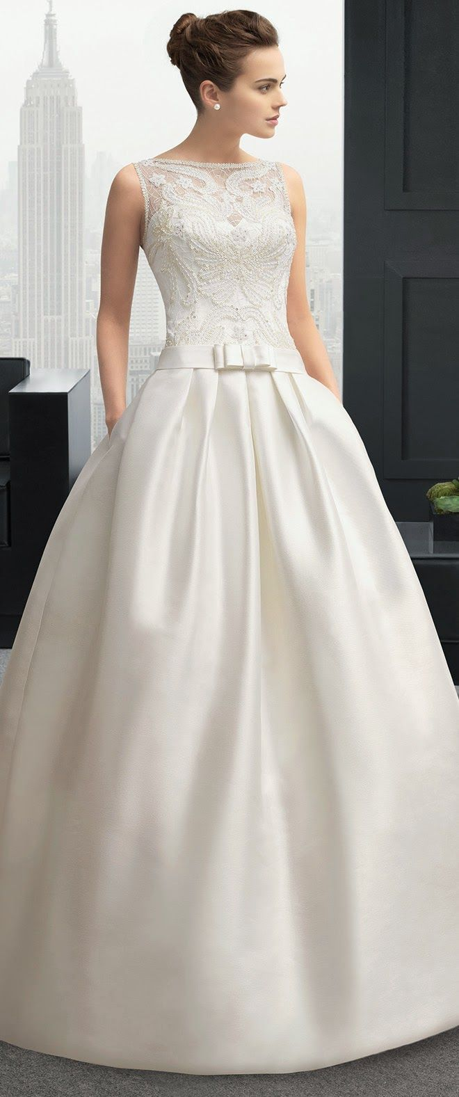 Two by Rosa Clara 2015 Bridal Collection - Belle the Magazine . The Wedding Blog For The Sophisticated Bride.