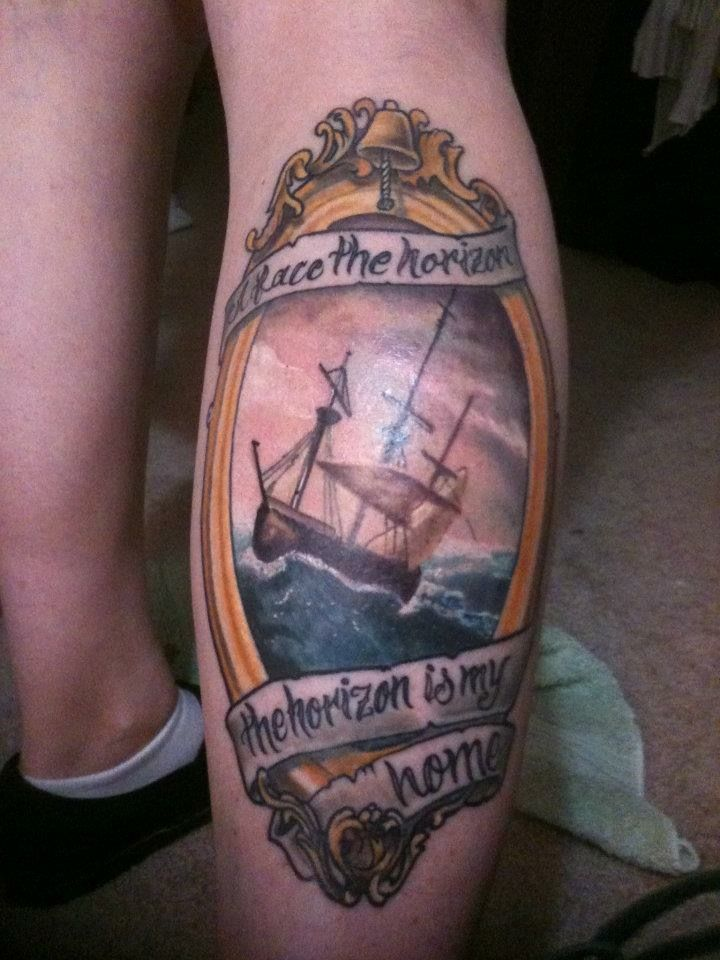 Frank Turner tattoo