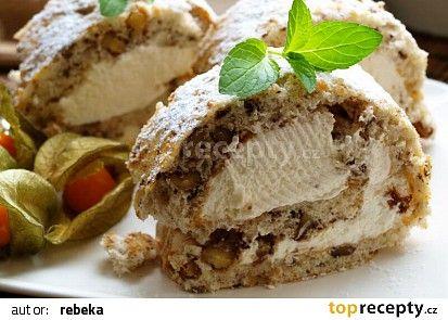 Ořechová roláda