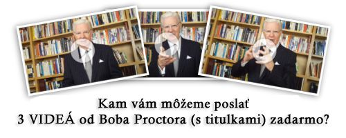 Daniel Konieczny: Som rád, že môžeme urobiť prvé interview pre ľudí zo strednej Európy, ktorí majú skutočne radi svoj osobný rozvoj. Ste rečník svetového formátu - legenda v oblasti podnikania a životnej motivácie. Keby sa ma teraz niekto spýtal, kto je Bob Proctor, čo by som mal v pár krátkych vetá